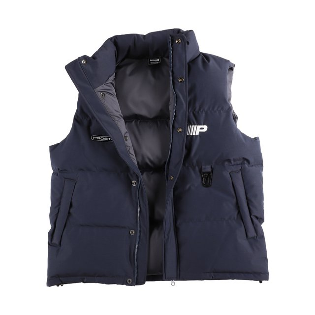 DOWN FILLED VEST NAVY