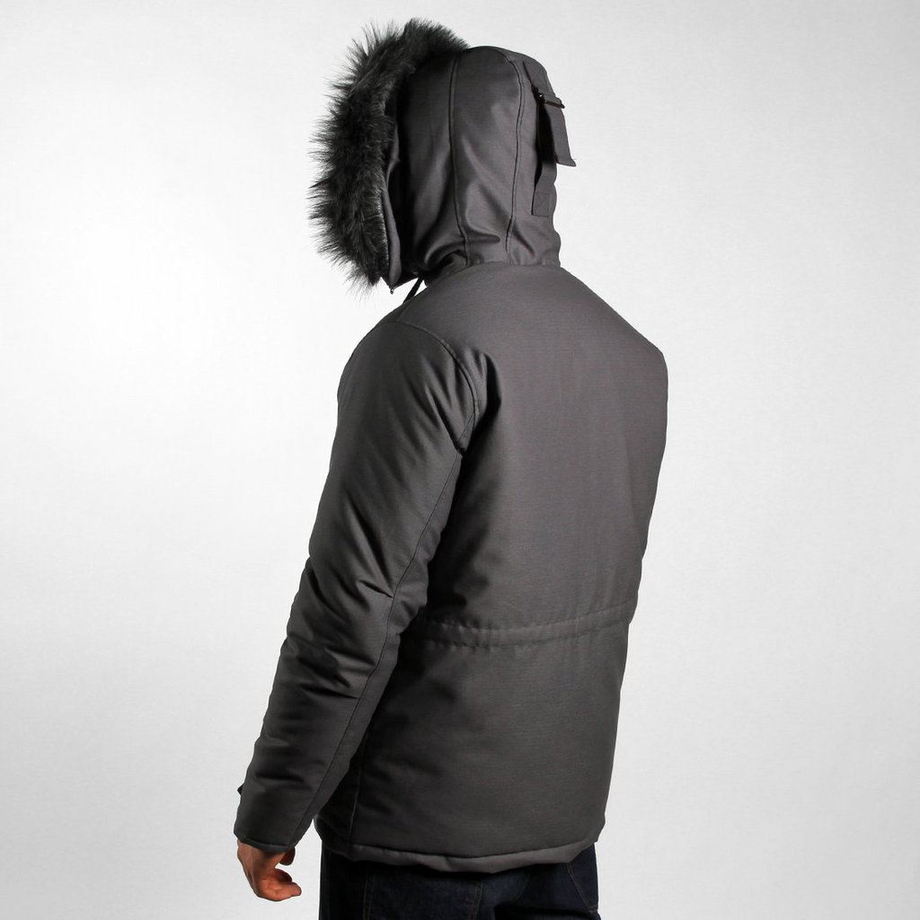 WINTER JACKET CONQUEROR GREY
