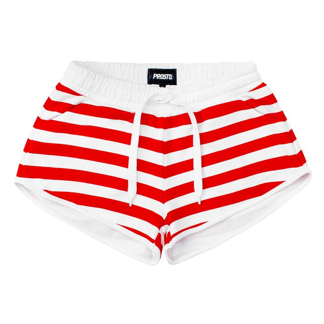 MARINA SHORTS RED
