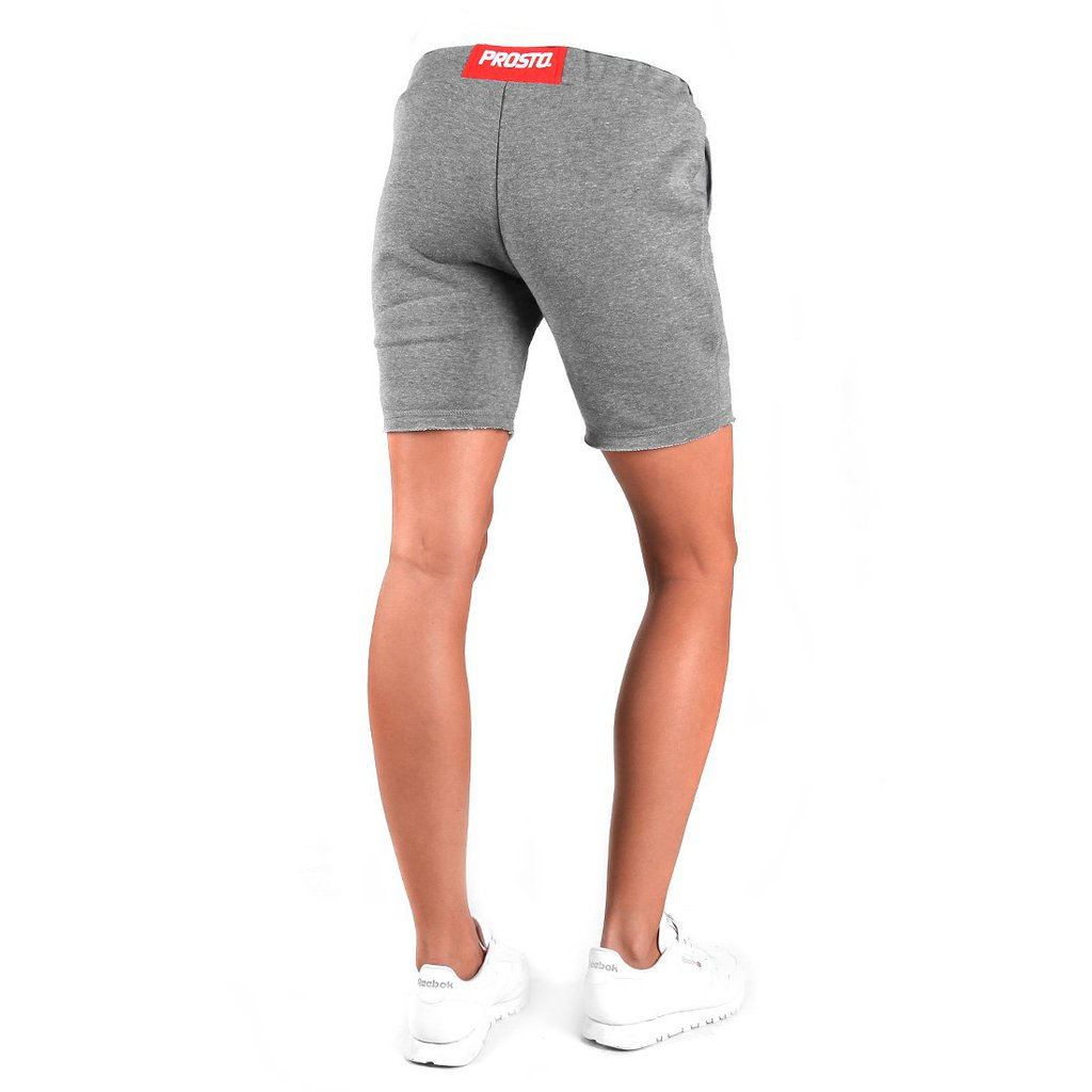 SHORTS BOXER MEDIUM HEATHER GREY