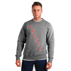 ST SWEATSHIRT BL STAIRS MEDIUM HEATHER GREY