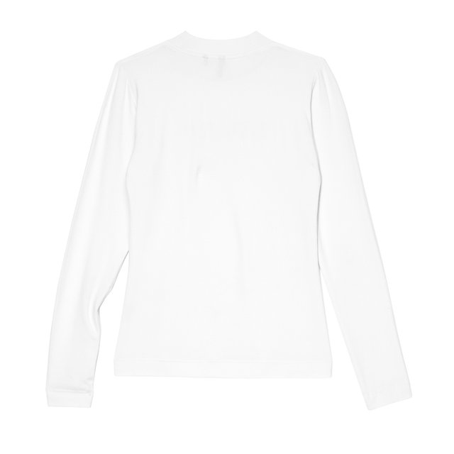 LONGSLEEVE ROYAL WHITE