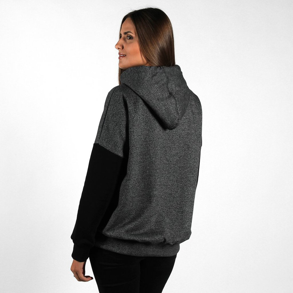 HOODIE BOYFRIEND PEPPER HEATHER GREY