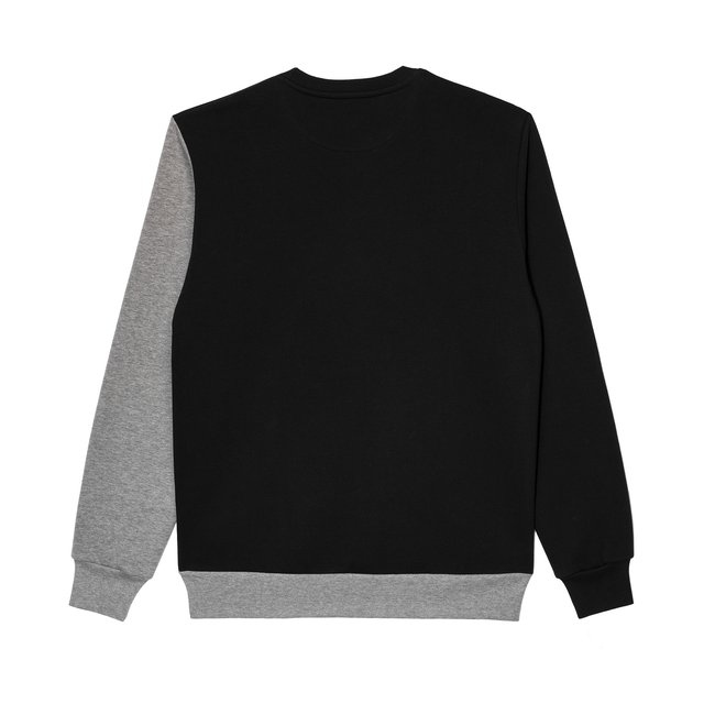 CREWNECK SLANT GREY/BLACK