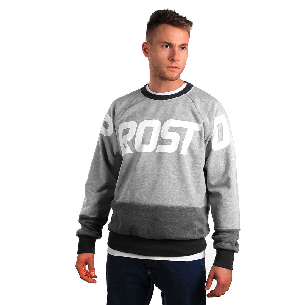 SWEATSHIRT BIGONE 2 LIGHT HEATHER GREY